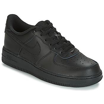 Παπούτσια Παιδί Χαμηλά Sneakers Nike AIR FORCE 1 CADET Black