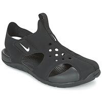 Παπούτσια Παιδί Σανδάλια / Πέδιλα Nike SUNRAY PROTECT 2 CADET Black / Άσπρο