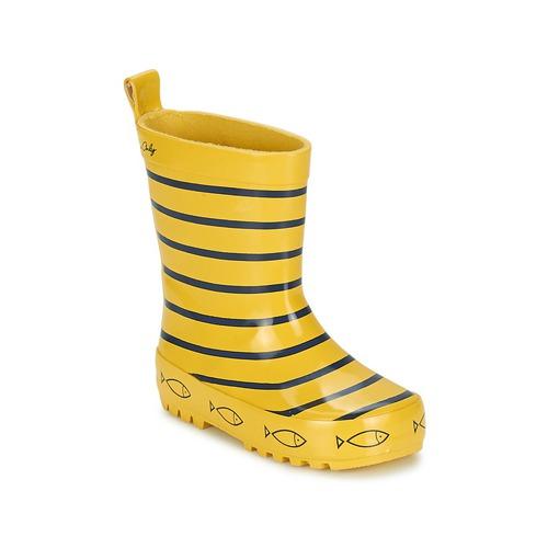 Παπούτσια Παιδί Μπότες βροχής Be Only TIMOUSS Yellow / μπλέ