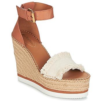Παπούτσια Γυναίκα Εσπαντρίγια See by Chloé SB28152 Cognac / Beige