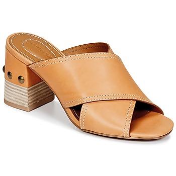 Παπούτσια Γυναίκα Τσόκαρα See by Chloé SB30083 Camel