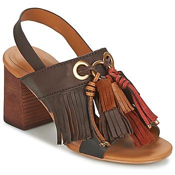 Παπούτσια Γυναίκα Σανδάλια / Πέδιλα See by Chloé SB30102 Brown