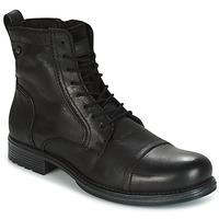 Παπούτσια Άνδρας Μπότες Jack & Jones RISSOL Black