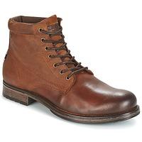 Παπούτσια Άνδρας Μπότες Jack & Jones JUSTIN Brown