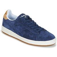 Παπούτσια Άνδρας Χαμηλά Sneakers Diadora GAME LOW SUEDE Μπλέ