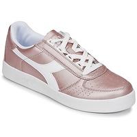 Παπούτσια Γυναίκα Χαμηλά Sneakers Diadora B ELITE I METALLIC WN Bronze