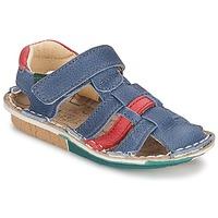 Παπούτσια Αγόρι Σανδάλια / Πέδιλα El Naturalista KIRI μπλέ / Red