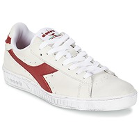 Παπούτσια Χαμηλά Sneakers Diadora GAME L LOW WAXED Άσπρο / Red