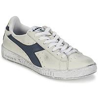 Παπούτσια Χαμηλά Sneakers Diadora GAME L LOW WAXED Άσπρο / Μπλέ