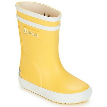 Παπούτσια Παιδί Μπότες βροχής Aigle BABY FLAC Yellow