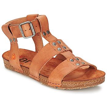 Παπούτσια Γυναίκα Σανδάλια / Πέδιλα Art CRETA SPARA CAMEL