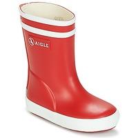 Παπούτσια Παιδί Μπότες βροχής Aigle BABY FLAC Red / Άσπρο
