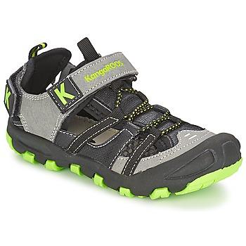 Παπούτσια Αγόρι Σανδάλια / Πέδιλα Kangaroos KANGASPEED 2068 Black / Green