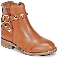Παπούτσια Κορίτσι Μπότες Young Elegant People CELIAL Cognac