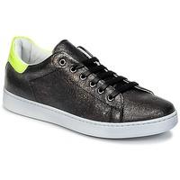 Παπούτσια Παιδί Χαμηλά Sneakers Young Elegant People EDENI Black / Yellow / Fluo