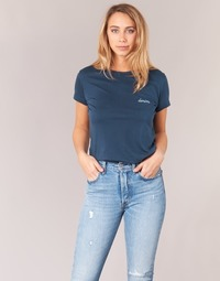 Υφασμάτινα Γυναίκα T-shirt με κοντά μανίκια Yurban HOULOU Marine
