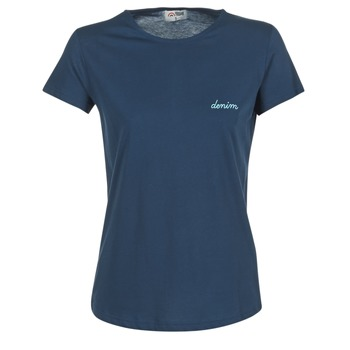 Υφασμάτινα Γυναίκα T-shirt με κοντά μανίκια Yurban IHOULOU Marine