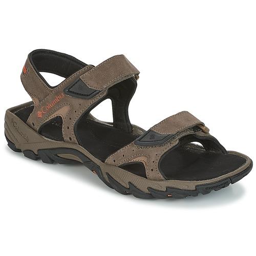 Παπούτσια Άνδρας Σπορ σανδάλια Columbia SANTIAM 2 STRAP Brown