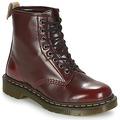 Παπούτσια Μπότες Dr Martens VEGAN 1460 Cherry / Κοκκινο / Cambridge / Brush