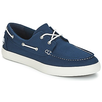 Παπούτσια Άνδρας Boat shoes Timberland UNION WHARF 2 EYE BOAT OX Μπλέ