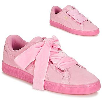 Παπούτσια Γυναίκα Χαμηλά Sneakers Puma WNS SUEDE HEART RESET.PINK ροζ