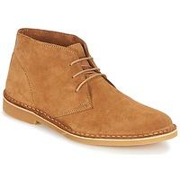 Παπούτσια Άνδρας Μπότες Selected SHH ROYCE LIGHT SUEDE BOOT Cognac