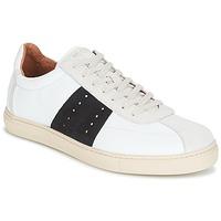 Παπούτσια Άνδρας Χαμηλά Sneakers Selected SHNDURAN NEW MIX SNEAKER Άσπρο / Marine