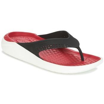 Παπούτσια Σαγιονάρες Crocs LITERIDE FLIP Black / Red
