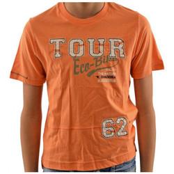 Υφασμάτινα Παιδί T-shirt με κοντά μανίκια Diadora  Orange