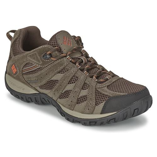 Παπούτσια Άνδρας Πεζοπορίας Columbia REDMOND Brown