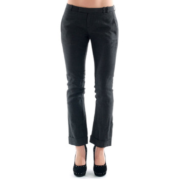Υφασμάτινα Γυναίκα Παντελόνια Chino/Carrot Amy Gee AMY04300 Gris oscuro