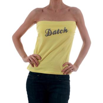 Υφασμάτινα Γυναίκα Αμάνικα / T-shirts χωρίς μανίκια Datch DTC00006 Amarillo