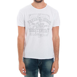 Υφασμάτινα Άνδρας T-shirt με κοντά μανίκια Fred Mello FMCLA99TG_BIANCO Blanco