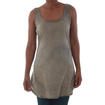 Αμάνικα/T-shirts χωρίς μανίκια Fornarina BILSTON_GOLD [COMPOSITION_COMPLETE]