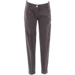 Υφασμάτινα Γυναίκα Παντελόνια Chino/Carrot Fracomina FRA07604 Gris