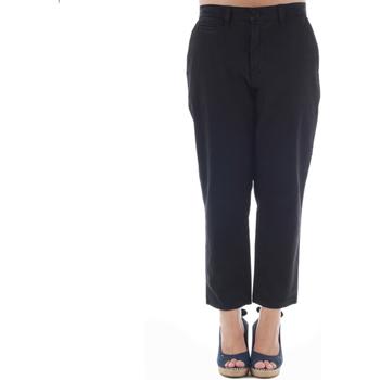 Υφασμάτινα Γυναίκα Παντελόνια Chino/Carrot Gas GAS01164 Negro
