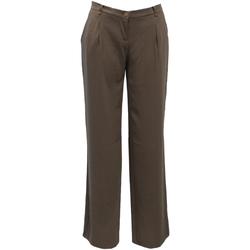 Υφασμάτινα Γυναίκα Παντελόνια Chino/Carrot Liu Jo LIU05016 Marrón