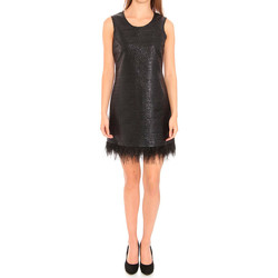 Υφασμάτινα Γυναίκα Κοντά Φορέματα Liu Jo F65029T8222_22222 Negro