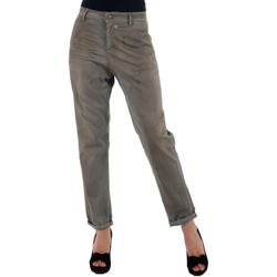 Υφασμάτινα Γυναίκα Παντελόνια Chino/Carrot Miss Sixty MIS01024 Gris
