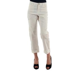 Υφασμάτινα Γυναίκα Παντελόνια Chino/Carrot Miss Sixty MIS01030 Blanco roto