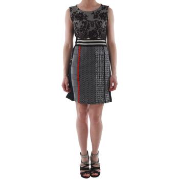 Υφασμάτινα Γυναίκα Κοντά Φορέματα Rinascimento 82008_NERO Negro