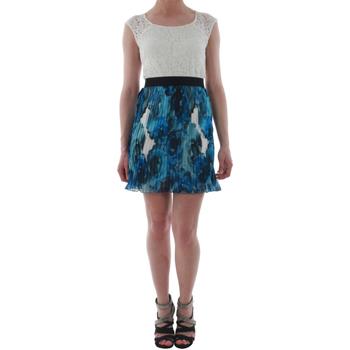 Υφασμάτινα Γυναίκα Κοντά Φορέματα Rinascimento 1276/16M_BLU Blanco
