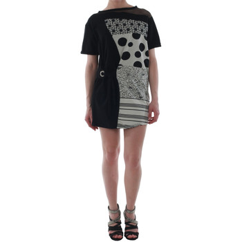 Υφασμάτινα Γυναίκα Κοντά Φορέματα Rinascimento 82024_NERO Negro