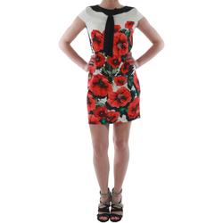 Υφασμάτινα Γυναίκα Κοντά Φορέματα Rinascimento 1253/16A_ROSSO Blanco