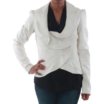 Υφασμάτινα Γυναίκα Σακάκι / Blazers Rinascimento 7690_BIANCO Blanco