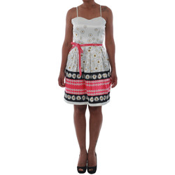Υφασμάτινα Γυναίκα Κοντά Φορέματα Rinascimento 1384/16M_FUXIA Blanco