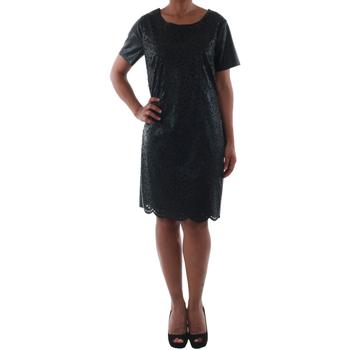Υφασμάτινα Γυναίκα Κοντά Φορέματα Rinascimento 14007_NERO Negro