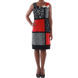 Υφασμάτινα Γυναίκα Κοντά Φορέματα Rinascimento 7616A/B_CORALLO Negro