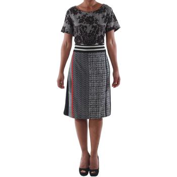 Υφασμάτινα Γυναίκα Κοντά Φορέματα Rinascimento 9208/C_NERO Negro