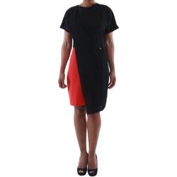 Υφασμάτινα Γυναίκα Κοντά Φορέματα Rinascimento MIRANDA_ROSSO Negro